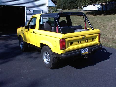 Ford Ranger Convertible Kit by Post Your Bronco The Ranger Station Forums