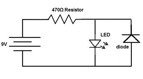 How Connect Protection Diode Circuit