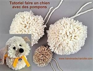 Faire Des Pompons : tutoriel faire un chien avec des pompons en laine ~ Zukunftsfamilie.com Idées de Décoration