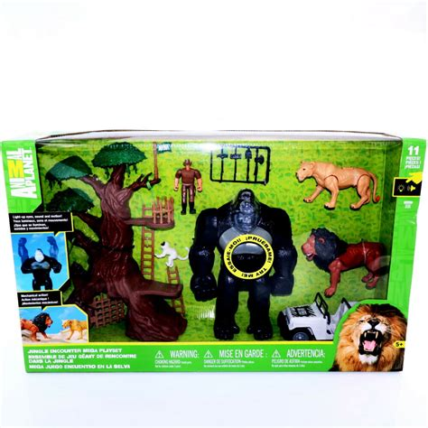 animal planet jungle encounter mega playset lights sound