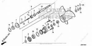 Honda Outboard Parts By Hp  U0026 Serial Range 40hp Oem Parts