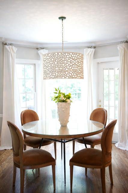 oly studio meri drum chandelier transitional dining