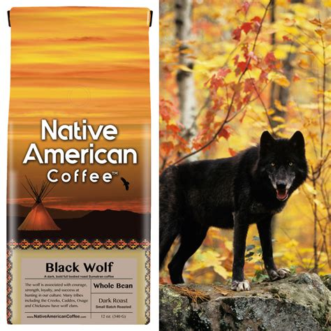 Mastering the craft of coffee since 1990, using only top grade, organic and fair trade arabica beans, roasted to perfection using small batch roasting. Black Wolf Coffee - Native American Coffee