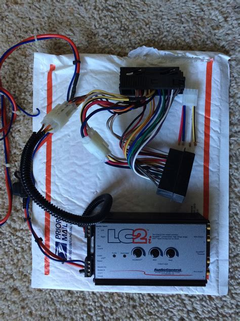 Technic Wiring Harnes by Technic S Pnp Harness With Audiocontrol Lc2i