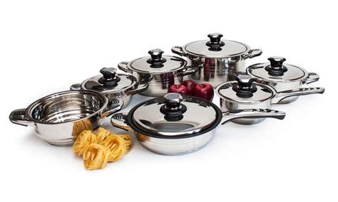 batterie de cuisine professionnelle batterie de cuisine professionnelle 13 pièces groupon