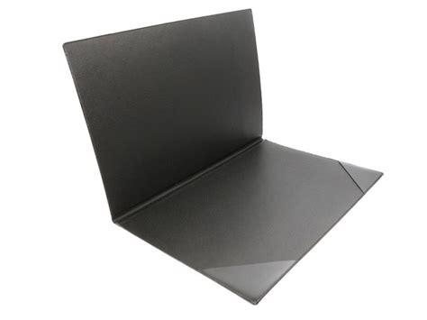 sous original bureau sous de bureau en cuir noir à rabat sous cuir