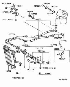 Toyota Supra Gasket For Oil Pipe   Engine