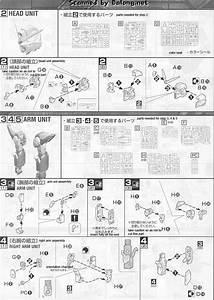 Mg Wing Gundam English Manual And Color Guide