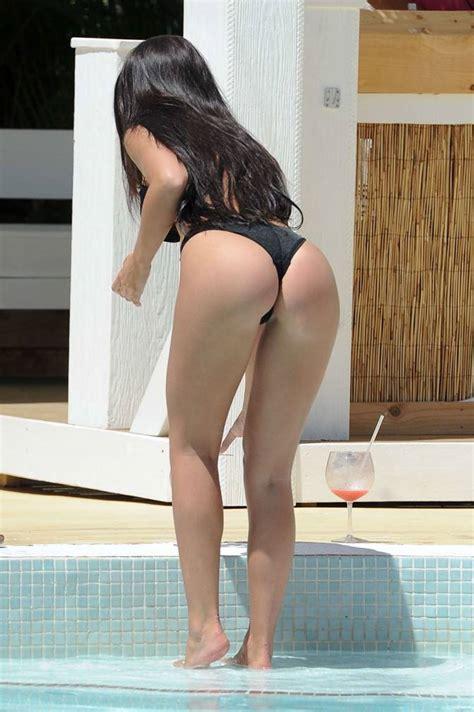 Kady Mcdermott in Black Bikini at Ibiza - Hot and Sexy ...