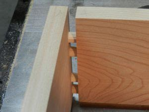 dry fitted dowel joint   build entryway table drawer