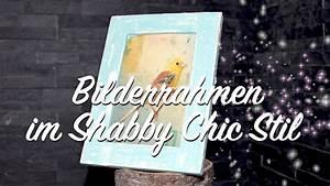 Holzmöbel Streichen Shabby Chic : bilderrahmen im shabby chic stil streichen diy ganz einfach anleitung youtube ~ Bigdaddyawards.com Haus und Dekorationen