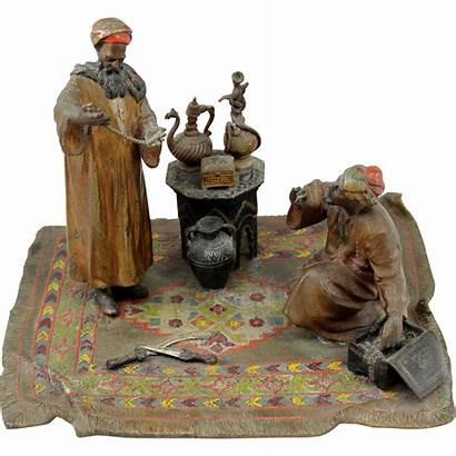 Anton Vienna Bronze Arab Cold Painted Merchants