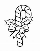 Cane Candy Template Printables Coloring Printable Holiday sketch template