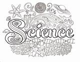 Science Coloring Brain Dawn Pages Easy sketch template