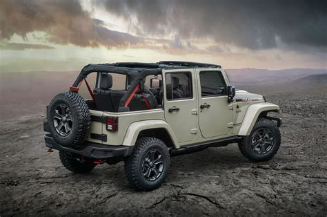 army jeep 2017 the 2017 wrangler rubicon recon edition military autosource