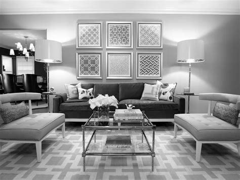 Dark Gray And White Living Room The Most New House