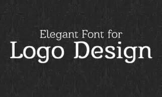 Free Elegant Fonts for Logo Design