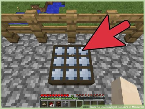 Minecraft Light Sensor by 4 Ways To Use Daylight Sensors In Minecraft Wikihow