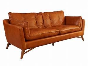 Sofa 3 Sitzer Leder : bantry sofa 3 sitzer design ledersofa columbia brown vintage leder m bel couch ebay ~ Bigdaddyawards.com Haus und Dekorationen