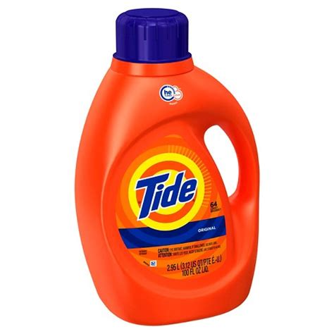 high efficiency laundry detergent tide original high efficiency liquid laundry detergent 100 oz target