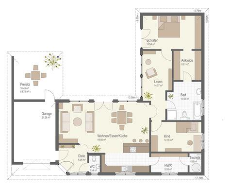 Bungalow Garage Grundrisse by Bungalow 159 Fertighaus Keitel