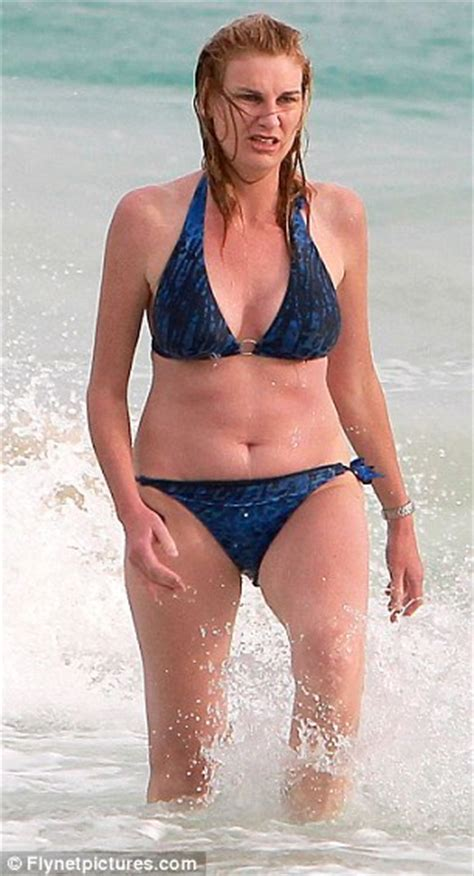 Dr No, no no! Sally Bercow does her best to impersonate ...