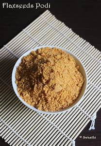 Flax seeds podi recipe | Flax seeds chutney powder recipe