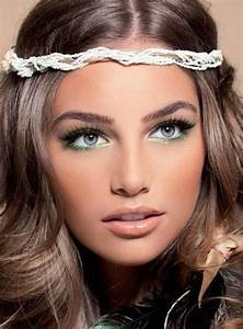 Tendance Maquillage 2015 : maquillage fin visage et yeux bleu tendance maquillage ~ Melissatoandfro.com Idées de Décoration
