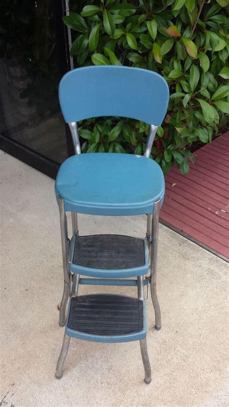 vintage mid century retro industrial metal cosco chair