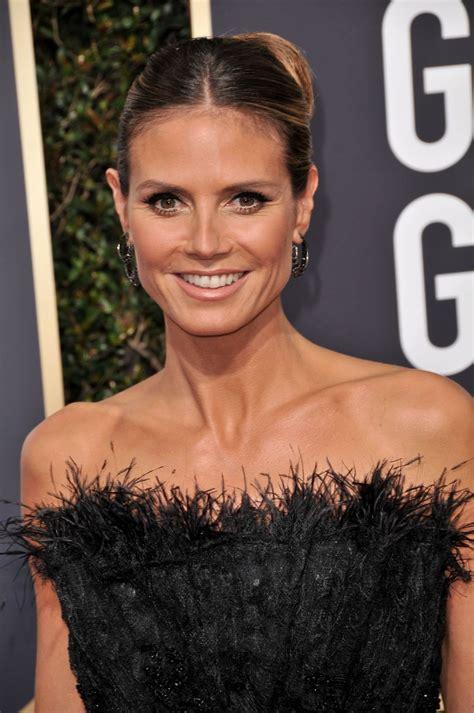 Heidi Klum Annual Golden Globe Awards Beverly