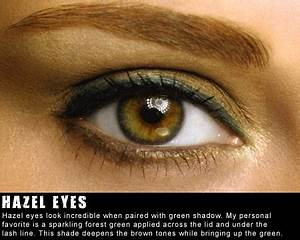 Hazel Eyes look incredible when paired with green ...