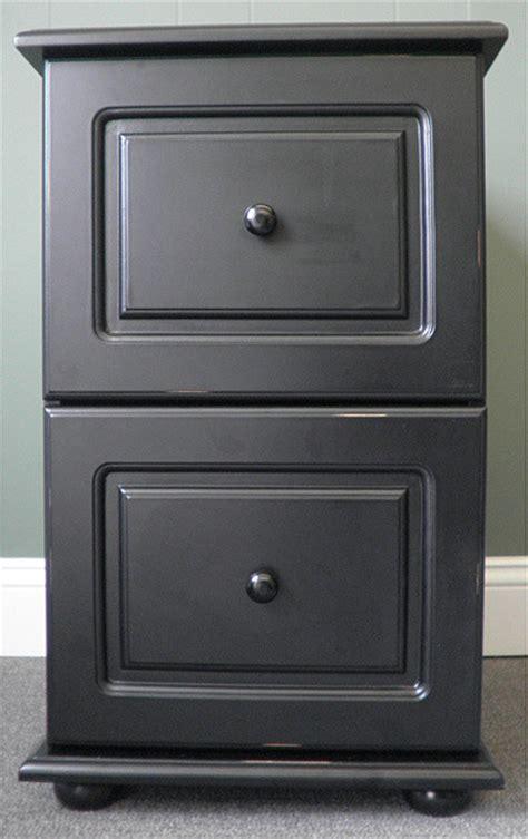 black wood distressed  drawer file cabinet  atoverstock