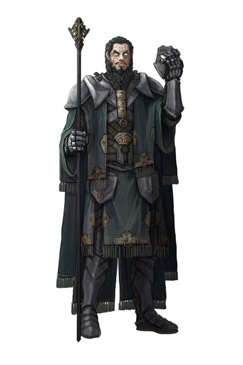 Artstation Character Concept Art Mage Guillem Daudén