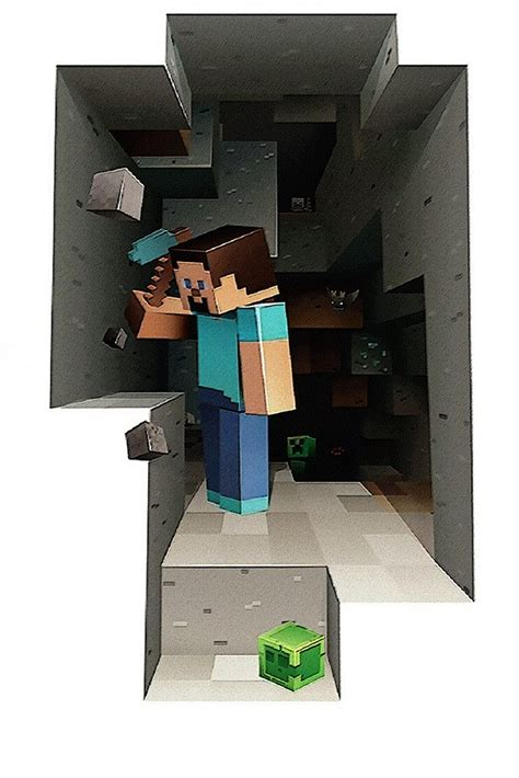 minecraft steve poster  hot posters