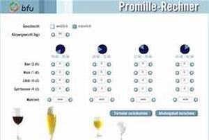 Alkohol Berechnen : alkohol promillerechner online wieviel alkohol darf ich trinken bfu promillerechner ~ Themetempest.com Abrechnung