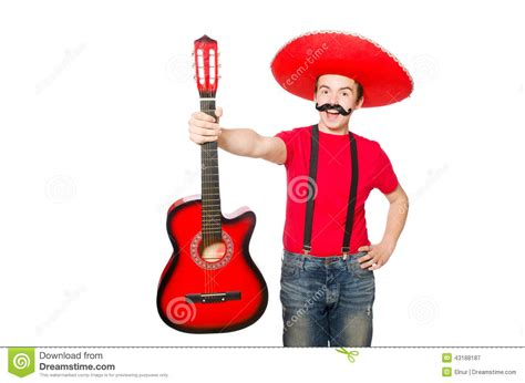mexican guitar player stock image image  crazy jazz