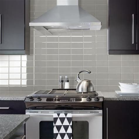 kitchen wall panels backsplash mohawk 174 grand terrace cloud 3 quot x 6 quot glass wall tile 6432