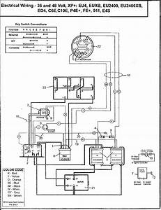 Ez Go Golf Cart 36 Volt Wiring Harness Diagram