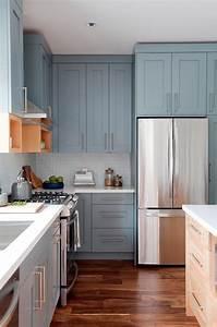 50, Blue, Kitchen, Design, Ideas