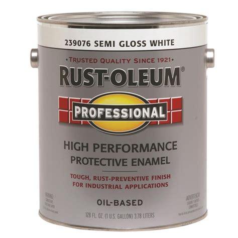 Shop Rustoleum Professional Whitesemigloss Semigloss