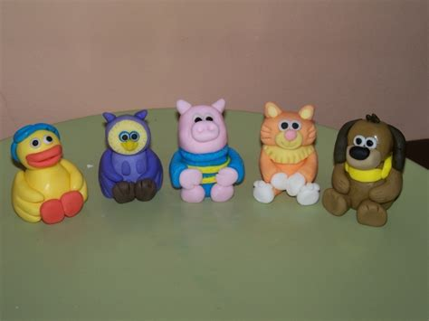 timmy time cake toppers flour butter sugar milk and water etc cake toppers