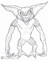 Gremlins Coloring Pages Bad Guy Getcolorings Gizmo Printable Getdrawings sketch template