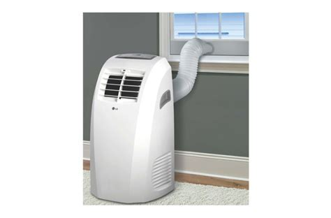 LG?s 10,000 BTU Portable Air Conditioner comes with a