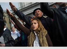 Spain Nazi Salutes in Madrid as FarRight Commemorates