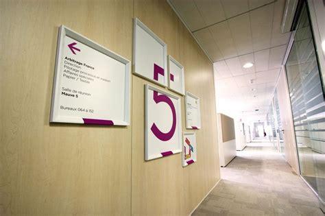 signaletique bureau 17 best images about environmental graphic design on