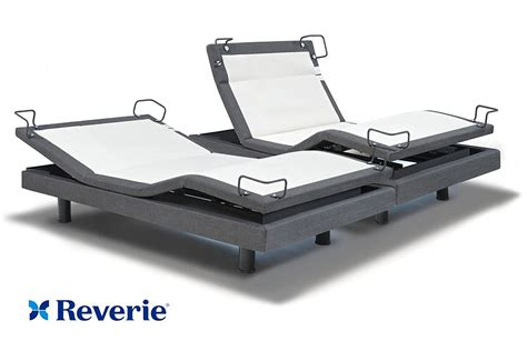 reverie adjustable bed reverie 8q adjustable bed base split king in home delivery