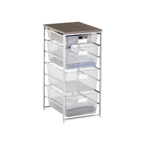 platinum cabinet sized elfa mesh closet drawers the