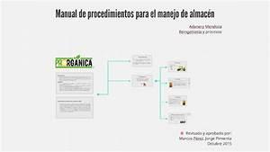 Manual De Procedimientos Para El Manejo De Almac U00e9n By