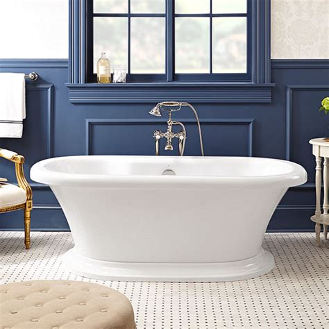 Garden Soaking Tub by Soaking Tubs St George Freestanding Soaker Tub With Deck