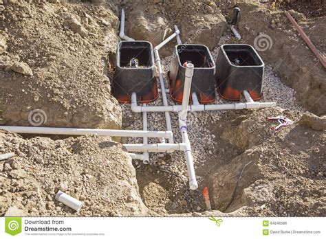 residential irrigation systems cost construction lawn irrigation system installation stock photo image 64646586